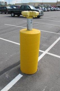 block-heater pole